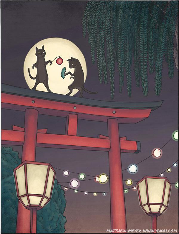 Bakeneko và Nekomata- Những boss mèo không hề đáng yêu trong quá khứ