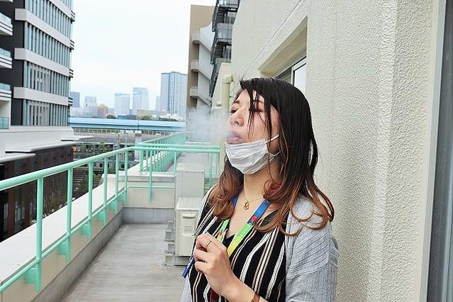 """Sản phẩm """"hút không em, làm hơi? Tốt cho sức khoẻ lắm đấy"""" đã xuất hiện tại Nhật"""