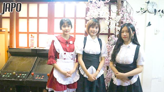 """""""Đột nhập"""" cà phê Hầu Gái – Figure MECHA SHOP Coffee tại TP HCM"""