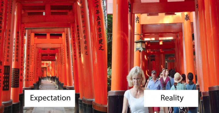 Có phải vì lượng khách nước ngoài tăng lên mà dân Nhật hạn chế chọn Kyoto làm điểm du lịch?