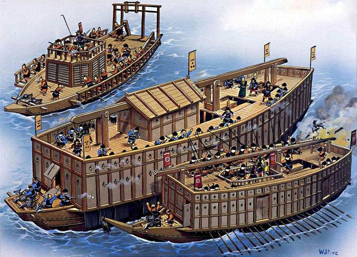 Vài nét về Atakebune – Tàu chiến huyền thoại của Nhật Bản