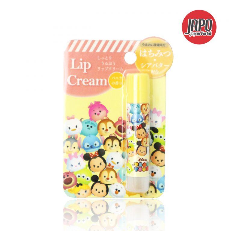 Giới thiệu sản phẩm: Son dưỡng môi hương Vanilla hoạ tiết Tsum tsum của Disney
