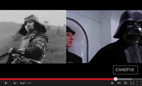 Tìm điểm giống nhau giữa siêu bom tấn Star Wars và phim của đạo diễn huyền thoại Akira Kurosawa