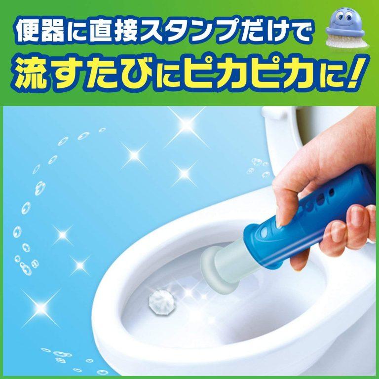 Giới thiệu sản phẩm: Khử mùi bồn cầu tự động khi xả nước Scrubbing Bubbles (dùng trong 72 ngày)