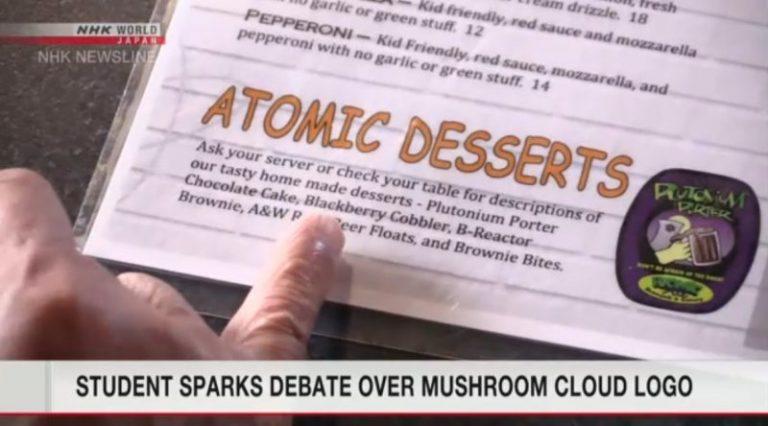 """Du học sinh người Nhật lên tiếng về Logo hình """"Mushroom Cloud"""" tại trường đại học của cô ở Mỹ"""