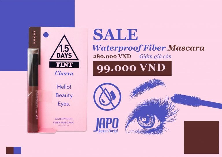 [HOT DEAL 28/6/2019] Mascara chống thấm nước Cherra 1.5 DAYS TINT