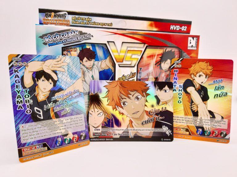 """Let's Play Haikyu!! Bóc hộp """"Bộ cờ bóng chuyền Haikyu!!"""" – Card game trí tuệ Nhật Bản HOT nhất hè này"""