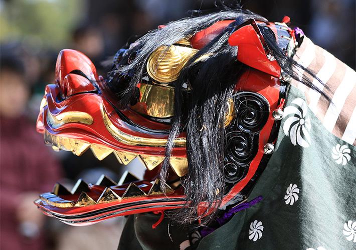 """""""Múa Lân kiểu Nhật"""" – Nét văn hoá ngày Tết của người dân xứ Anh Đào"""