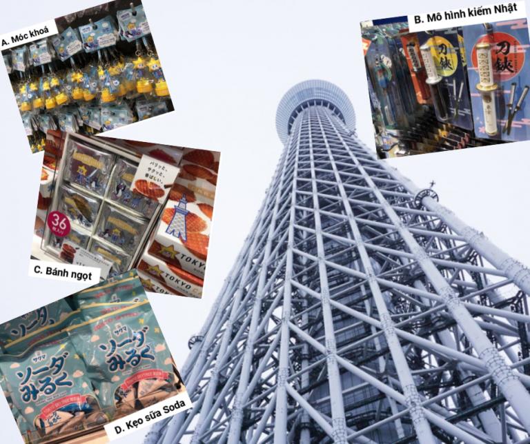 Khám phá TOKYO SKYTREE (R) – Nhận ngay quà may mắn