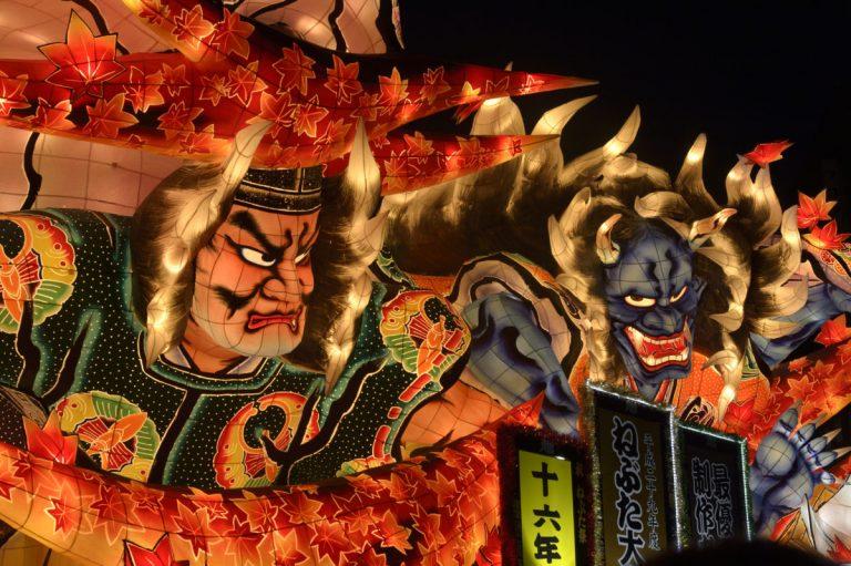 Lễ hội Aomori Nebuta, những vị thần xuất hiện trong thế giới loài người
