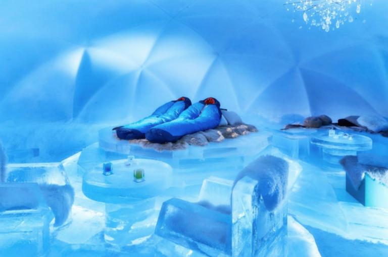 အမှတ်တရလေးတွေ ဖန်တီးပေးမယ့် ရေခဲပြင်ဟိုတယ်