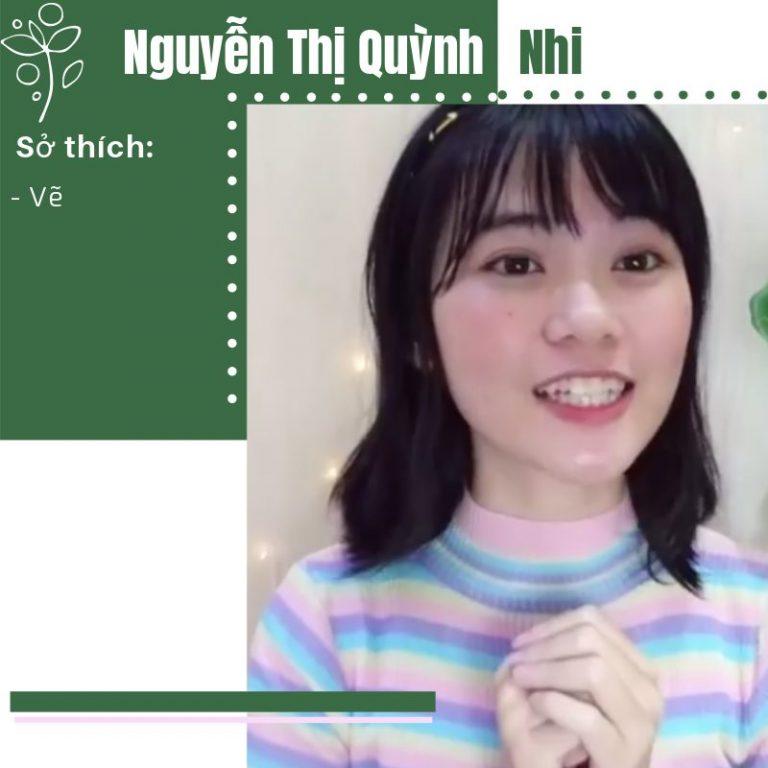 [ỨNG TUYỂN BEPPU] Nguyễn Thị Quỳnh Nhi – SBD 010