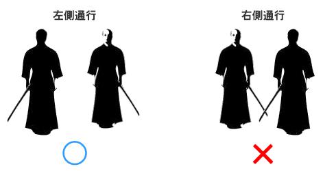 Tại sao người Nhật lại đi bên trái? Có thực là liên quan đến ...