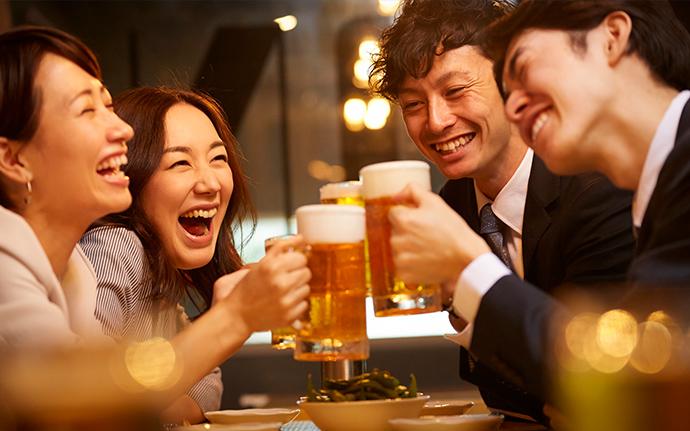 Văn hoá trên bàn nhậu nên ghi nhớ khi làm việc ở Nhật
