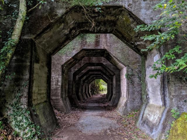 Bí ẩn đường hầm Hakkaku bị bỏ hoang 50 năm