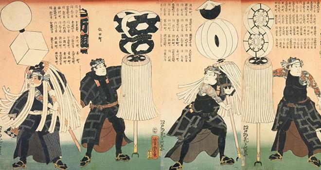 """Tất tần tật về nghề nghiệp """"ngầu"""" nhất thành Edo"""