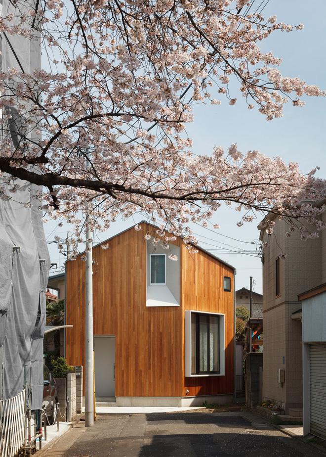 Mát mắt với ngôi nhà giữa lòng thành phố Tokyo của vợ chồng người Nhật