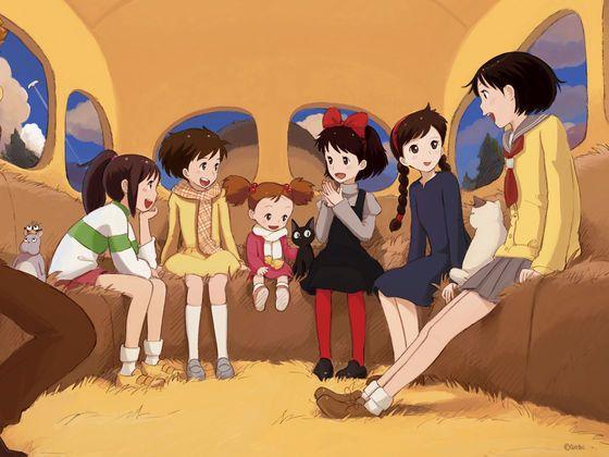 """Nam nhân Nhật Bản xếp hạng những nữ nhân được yêu thích trong """"thế giới"""" Ghibli"""