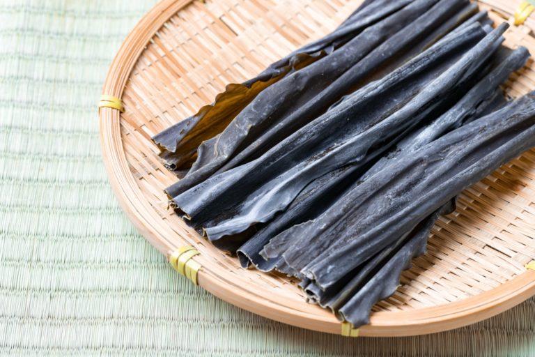 """Tảo bẹ """"Kombu"""" thực phẩm trường thọ của người Nhật Bản"""