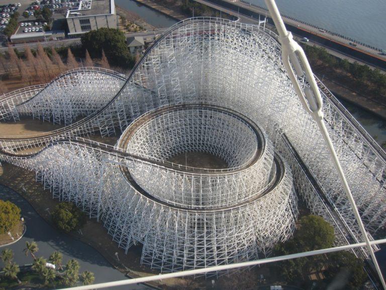 Công viên giải trí Nagashima SpaLand được mở cửa trở lại một số điểm vui chơi ngoài trời