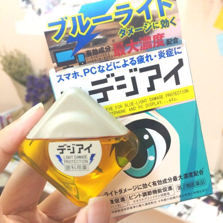 Thuốc nhỏ mắt Nhật Bản – Độc đáo, Hữu ích và Phong cách