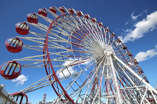 Không tốc độ, không mạo hiểm, nhưng vòng đu quay mặt trời này lại đáng sợ nhất công viên giải trí
