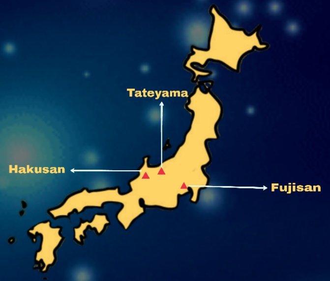 3 ngọn núi linh thiêng trong tâm tưởng của người Nhật