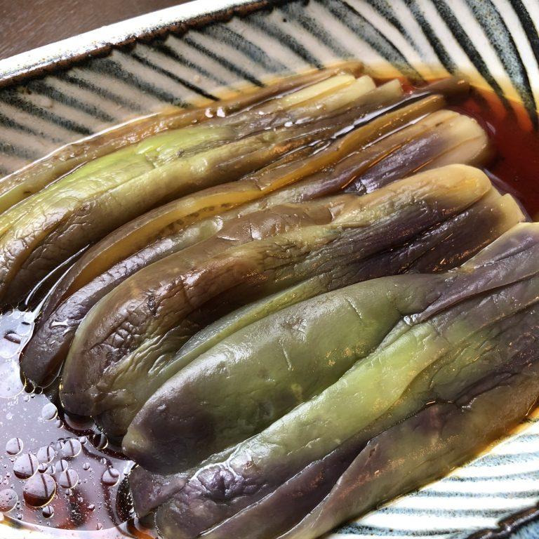 [Kyoko's cooking] Cà tím lạnh chấm sốt chua