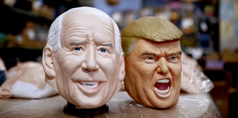 Xưởng phim Nhật Bản tăng tốc sản xuất mặt nạ ông Joe Biden vì quá nhiều người mua