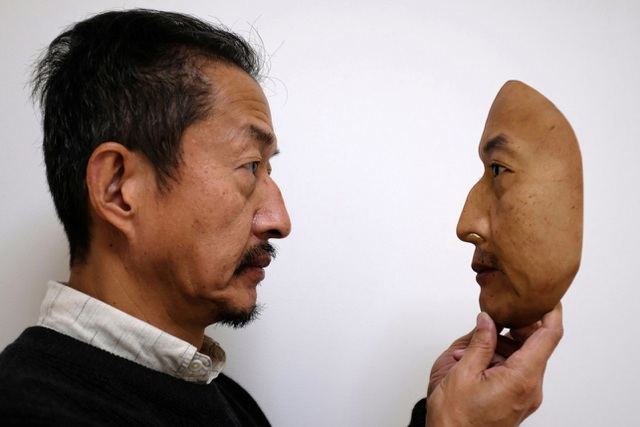 Nhật Bản sản xuất chiếc mặt nạ giống hệt mặt người thật