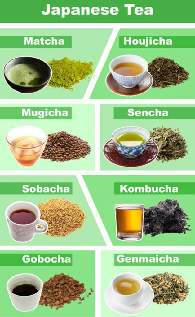 Không chỉ có Matcha, tất tần tật về các loại Trà Nhật