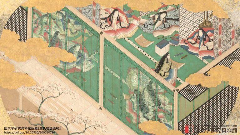 Kho ảnh nền đậm chất văn học nghệ thuật, hội hoạ Nhật Bản