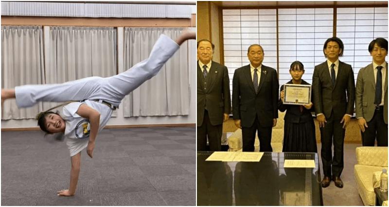 Học sinh trung học Nhật Bản giành chức vô địch Capoeira thế giới