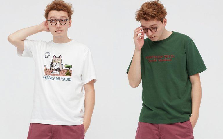 Bộ sưu tập áo thun Uniqlo X Haruki Murakami dành cho người yêu văn học