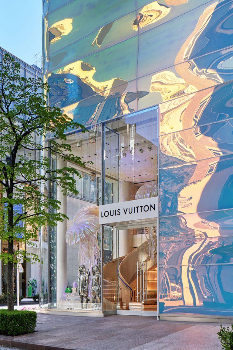 Đại dương trên cạn – Diện mạo mới độc đáo của Cửa hàng Louis Vuitton ở Ginza gây ấn tượng