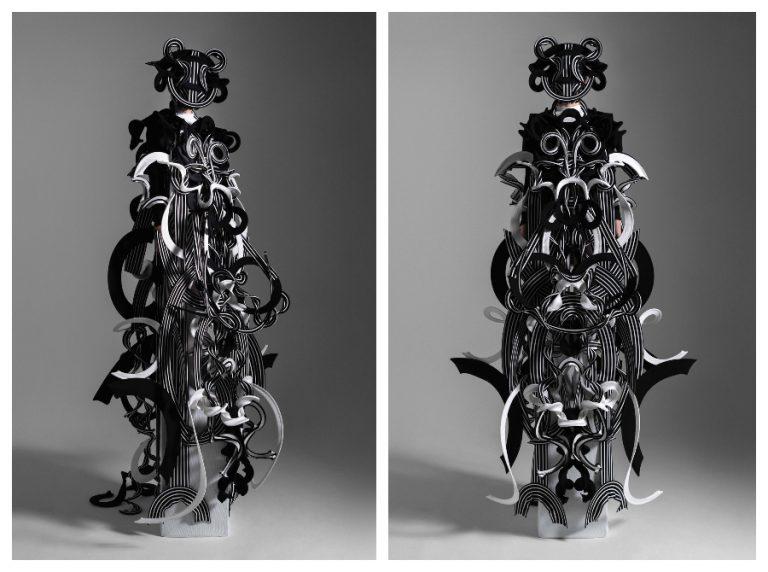 Bộ sưu tập thời trang cao cấp được lấy cảm hứng từ hoạ tiết gốm sứ thời cổ Jomon