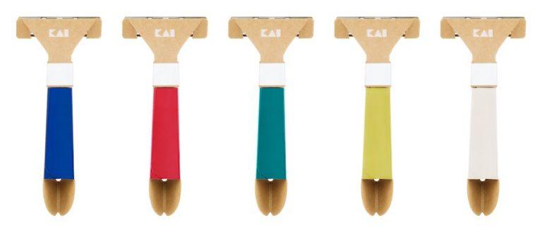 Công ty KAI của Nhật Bản sáng tạo dao cạo râu làm bằng giấy dùng một lần đầu tiên trên thế giới