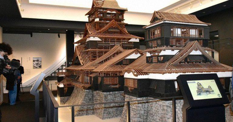 Việc khôi phục lại Thành Kumamoto sau trận động đấthơn 4 năm trước đã gần như hoàn thành