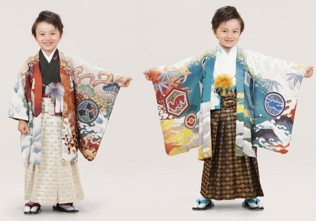 Bộ sưu tập Kimono siêu đáng yêu theo chủ đề Pokémon dành cho trẻ từ 3 đến 7 tuổi đang Hot ở Nhật Bản