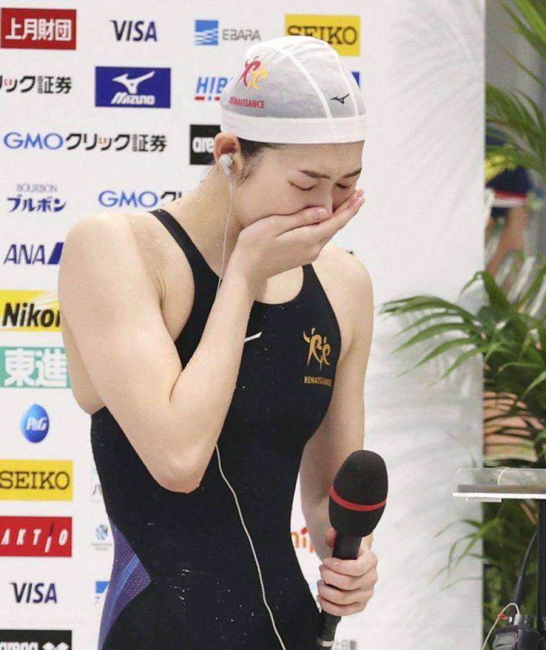 """""""Nữ kình ngư"""" Rikako Ikee quay trở lại sau khi đánh bại bạo bệnh để giành vé dự Olympic Tokyo"""