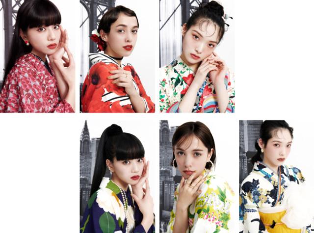 """Trong bộ sưu tập Yukata """"cực xịn"""" – sự kết hợp hoàn hảo của MAYBELLINEvà FURIFU có những gì?"""