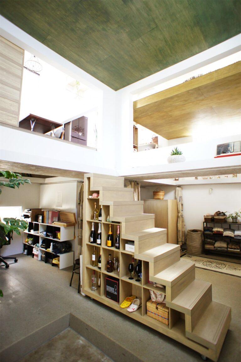 """""""Ngôi nhà Ninja"""" độc lạ, tối giản cả tường và cầu thang"""