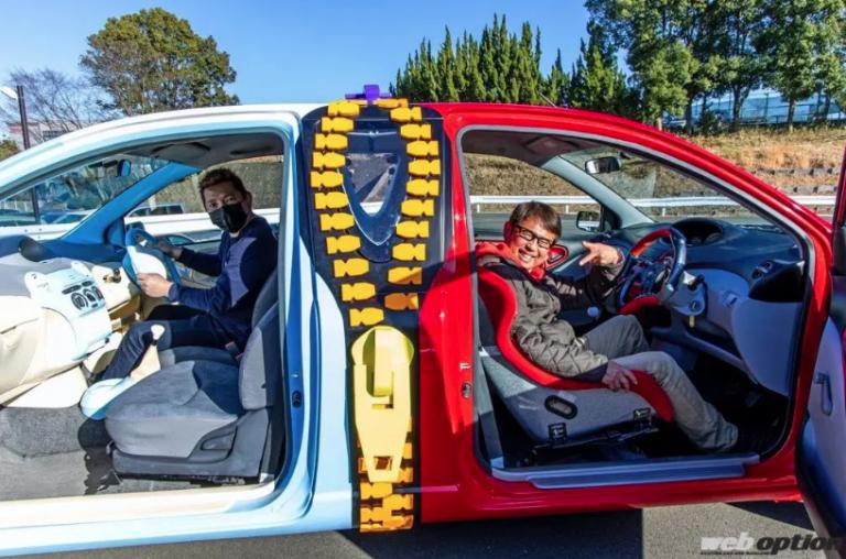 """Một chiếc xe, hai người lái – Phát minh """"kỳ cục"""" nhất ngành công nghiệp xe hơi"""