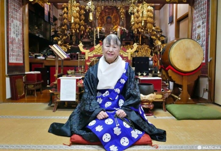 Chùa được thành lập bởi nữ tu sĩ chuyển giới Soshuku Shibatani, luôn rộng mở chào đón cộng đồng LGBTQ