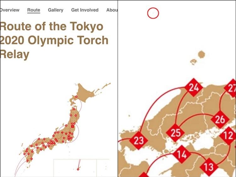 Tin nhanh: Hàn Quốc tức giận, yêu cầu chỉnh sửa bản đồ rước đuốc Olympic Tokyo