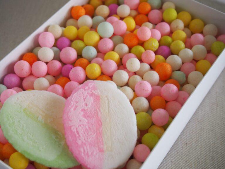 Hành trình 400 năm của những viên kẹo Oiri đáng yêu chúc phúc ngày cưới
