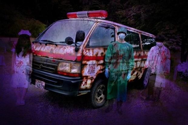 Công ty Screambulance ra mắt dịch vụ xe cứu thương kinh dị trong mùa dịch gây sốc tại Nhật Bản