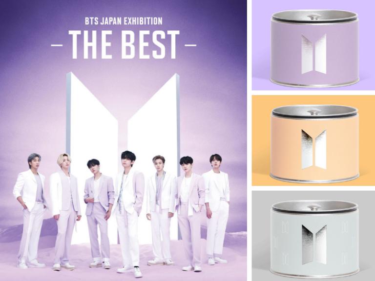 BTS hợp tác với Senchado Tokyo cho ra mắt hộp trà đẹp mắt trong triển lãm tại Nhật Bản