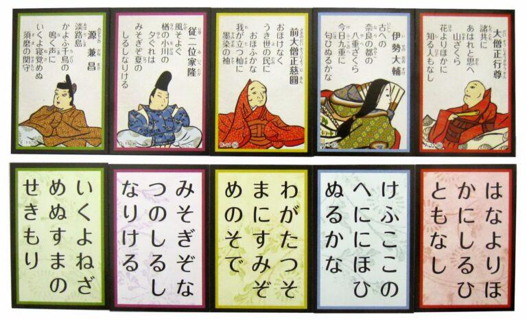 """Hyakunin Isshu – Bách nhân nhất thủ, trò chơi tìm """"mảnh"""" còn thiếu cho 100 bài Đoản ca nổi tiếng Nhật Bản"""