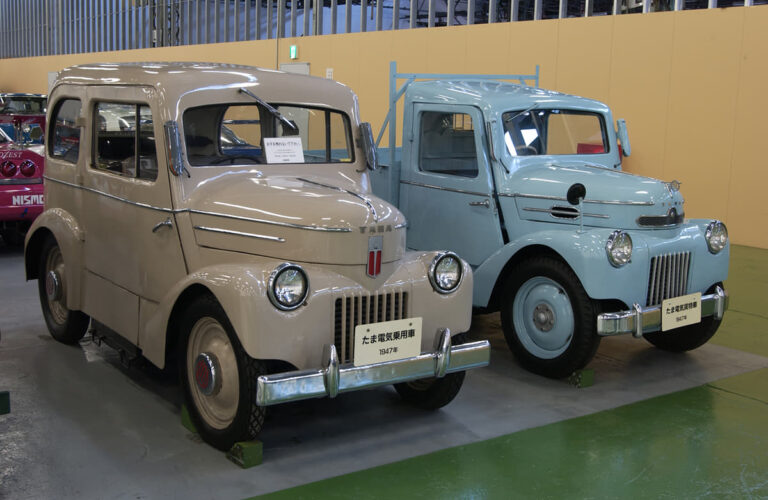 Hãng xe ẩn mình trong lịch sử ngành ô tô Nhật Bản, phát minh ra xe điện từ 70 năm trước